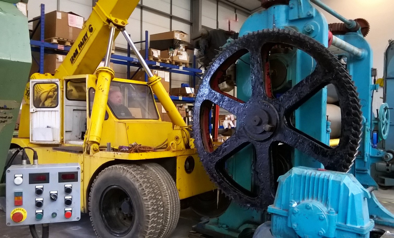 The Machinery Mevrs - Machinery Moving & Plant Decommissioning