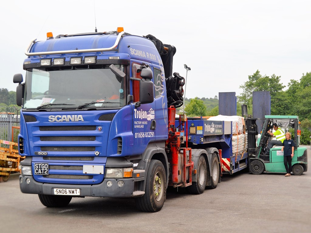 Hiab Hire & Haulage from Trojan Mek