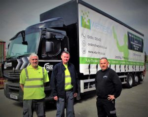 Trojan Mek and Wetherby Building Systems 26 tonne lorry