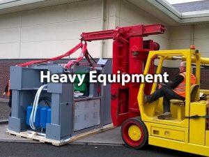 heavy equipment installation