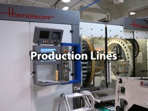 production line heavy machine installations